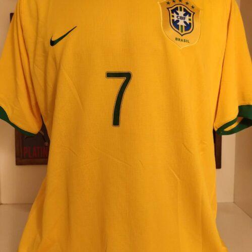 Camisa Brasil Nike 2006 Adriano Imperador