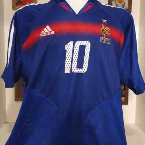 Camisa França Adidas 2004 Zidane