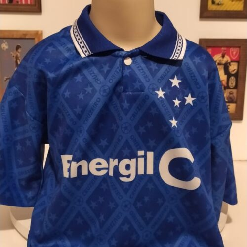Camisa Cruzeiro Lambra 1995 infantil
