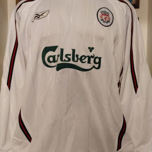 Camisa Liverpool Reebok 2003 mangas longas