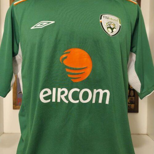 Camisa Irlanda Umbro 2004 Kilbane