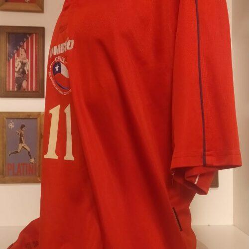 Camisa Chile Umbro 2000 Marcelo Salas