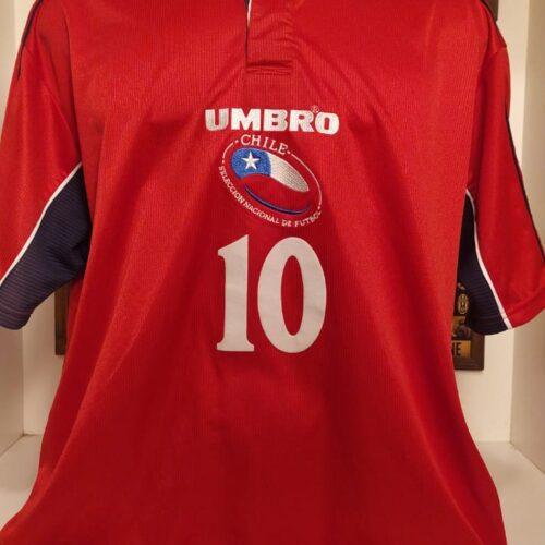 Camisa Chile Umbro 2000 Zamorano