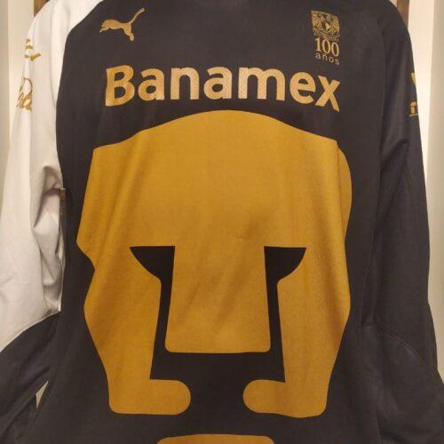 Camisa Pumas Puma 2010 mangas longas
