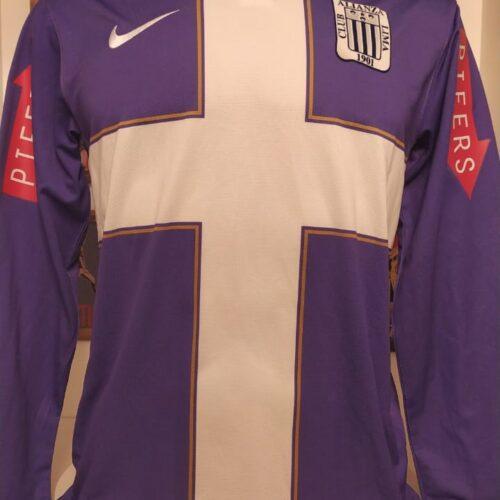 Camisa Alianza Lima Nike 2011 mangas longas