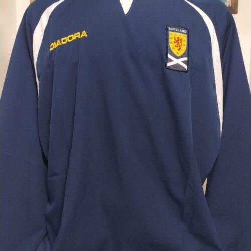 Camisa Escócia Diadora 2003 mangas longas