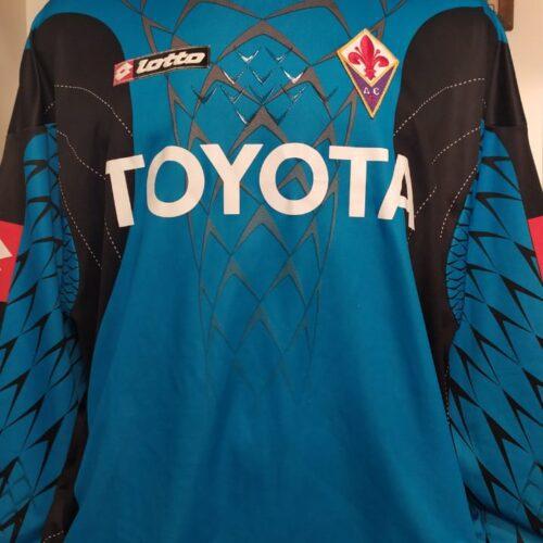 Camisa Fiorentina Lotto goleiro mangas longas