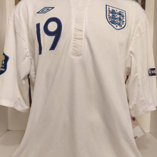 Camisa Inglaterra Umbro 2010 Defoe