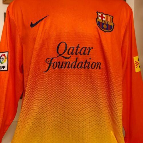 Camisa Barcelona Nike 2012 Fabregas mangas longas
