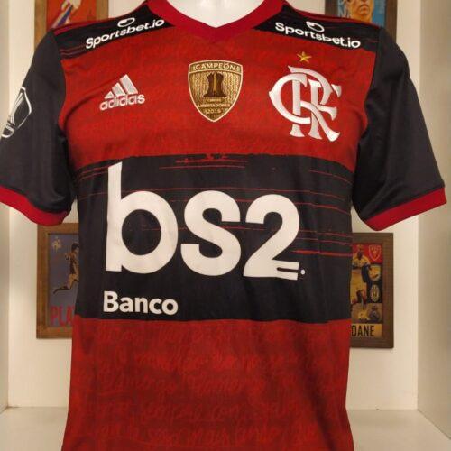 Camisa Flamengo Adidas 2020 Bruno Henrique Libertadores da América