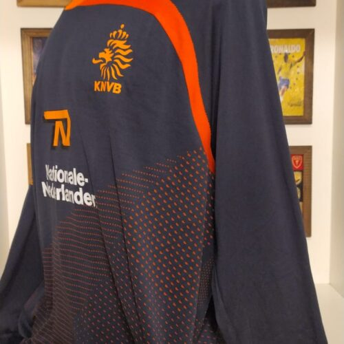 Camisa Holanda Nike treino mangas longas