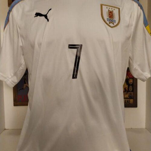 Camisa Uruguai Puma 2016 Cebola Rodriguez Copa do Mundo 2018