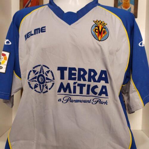 Camisa Villareal Kelme 2003