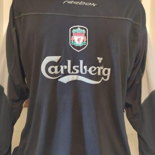 Camisa Liverpool Reebok 2002 mangas longas