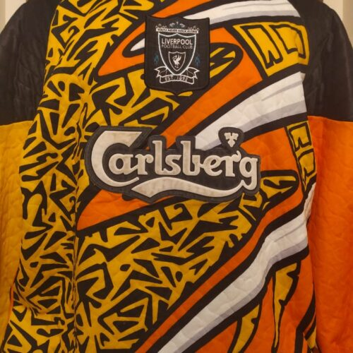 Camisa Liverpool Adidas 1995 goleiro mangas longas