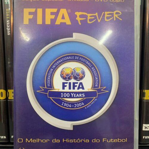 DVD FIFA fever centenário da FIFA