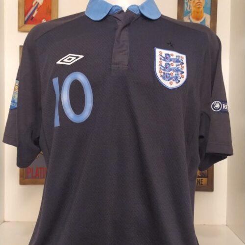 Camisa Inglaterra Umbro 2011 Rooney