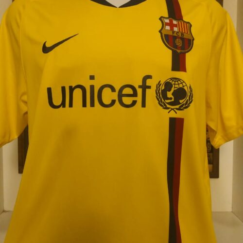 Camisa Barcelona Nike 2008 Xavi