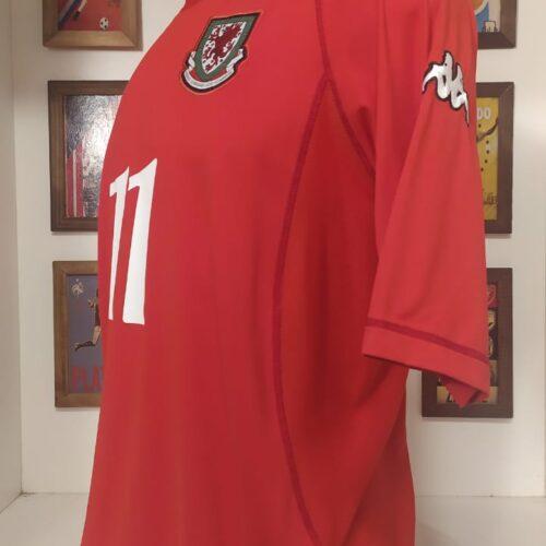 Camisa País de Gales Kappa 2000