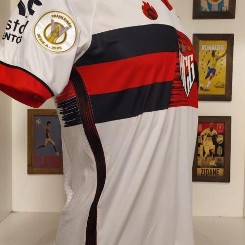 Camisa Atlético Goianiense Dragão 2020 Brasileirão