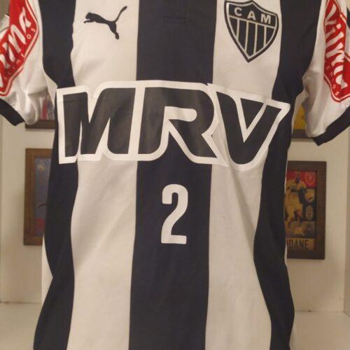 Camisa Atlético Mineiro Puma 2015 Marcos Rocha Libertadores da América