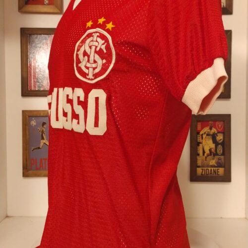 Camisa Internacional Perusso década 1980 categoria de base