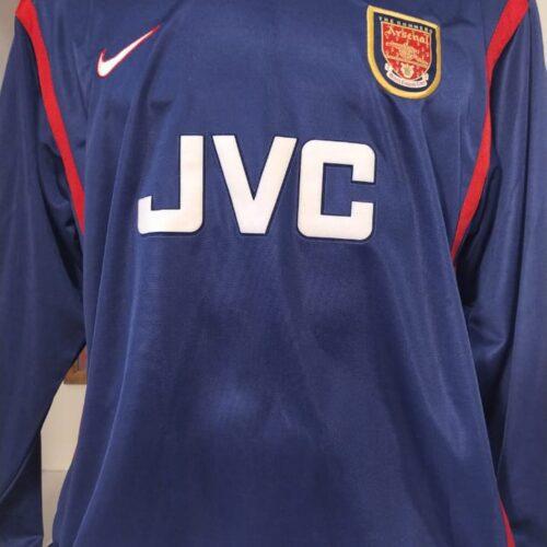 Camisa Arsenal Nike 1997 goleiro mangas longas