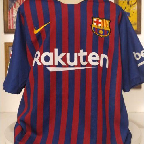 Camisa Barcelona Nike 2018 infantil