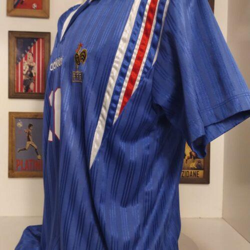Camisa França Adidas 1996 Zidane