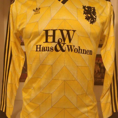 Camisa Holanda Adidas década 1980 goleiro mangas longas