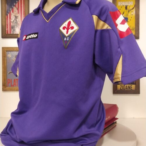 Camisa Fiorentina Lotto 2010 infantil
