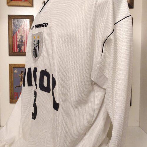 Camisa Santos Umbro 1999 Andrei mangas longas