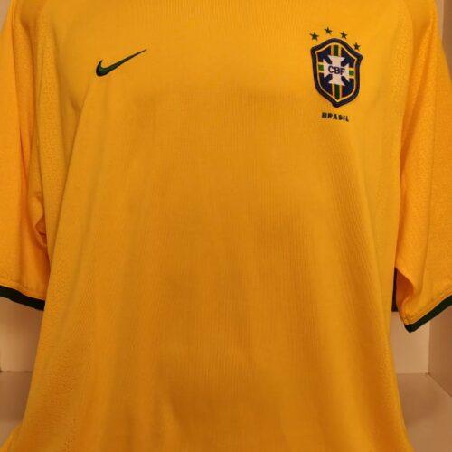Camisa Brasil Nike 2000