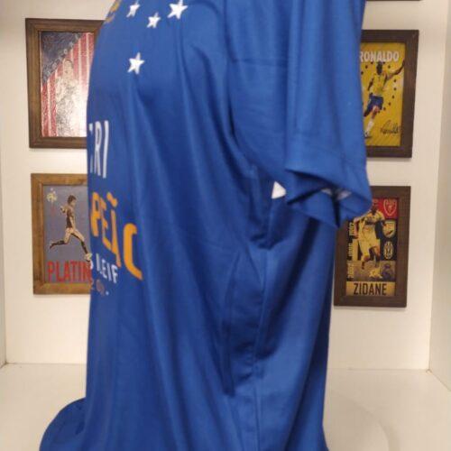 Camisa Cruzeiro Olympikus 2013 Tricampeão brasileiro comemorativa