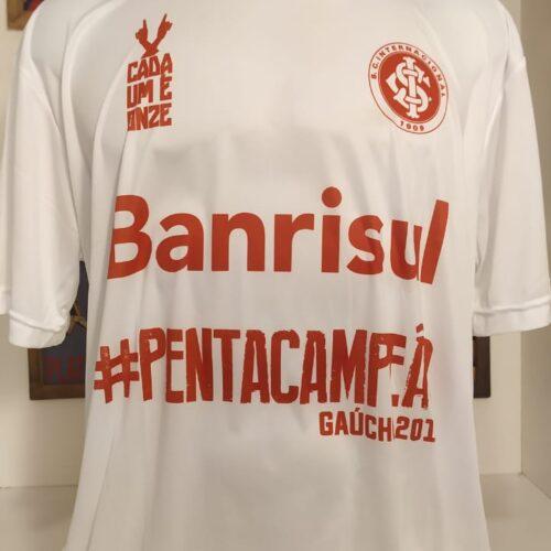 Camisa Internacional pentacampeão gaúcho 2015