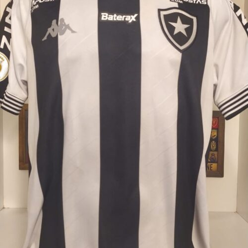 Camisa Botafogo Kappa 2020 Rafael Forster Brasileirão
