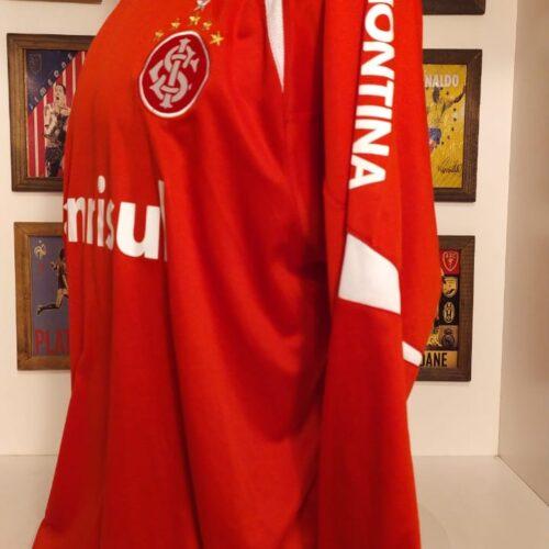 Camisa Internacional Reebok 2007 Elder Granja mangas longas