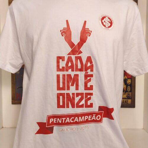 Camisa Internacional Cada um é onze, penta gaúcho 2015