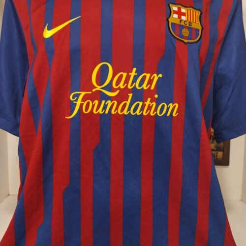 Camisa Barcelona Nike 2011 Messi Mundial FIFA