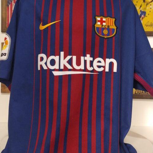 Camisa Barcelona Nike 2017 infantil