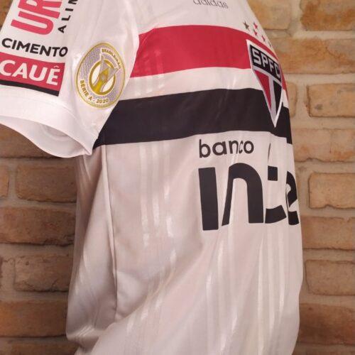 Camisa São Paulo Adidas 2020 Pablo Brasileirão