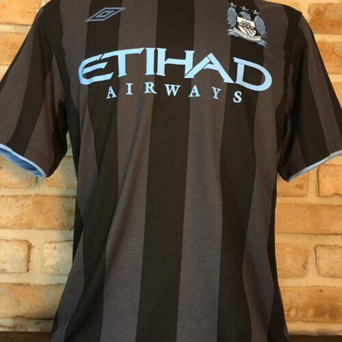Camisa Manchester City Adidas 2012 Kun Aguero