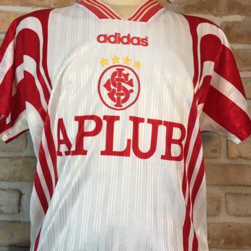 Camisa Internacional Adidas 1997 branca