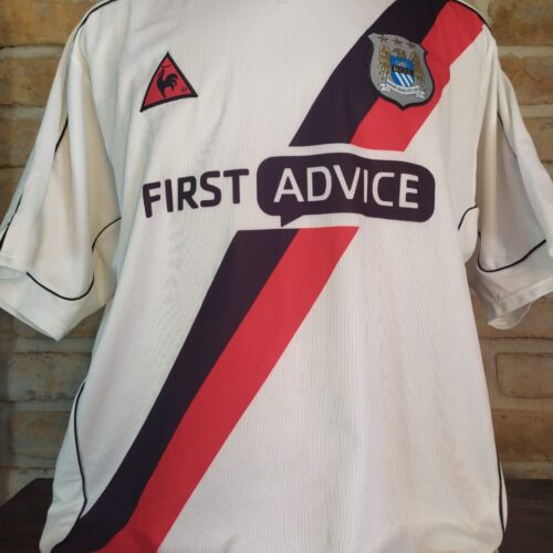 Camisa Manchester City Le Coq Sportif 2002 Anelka