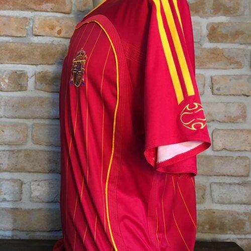 Camisa Espanha Adidas 2006 Xavi