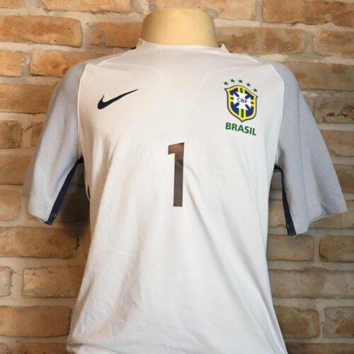 Camisa Brasil Nike 2016 Alisson goleiro