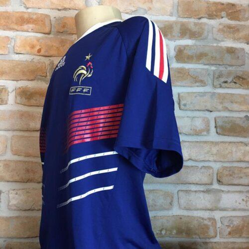 Camisa França Adidas 2009 Thierry Henry Copa do Mundo 2010