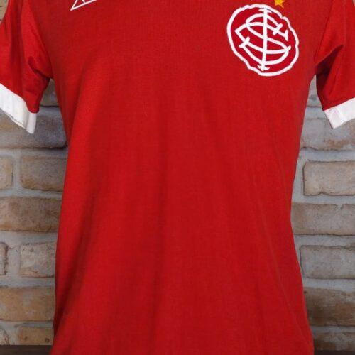 Camisa Internacional Le Coq Sportif 1982 Andre Luis