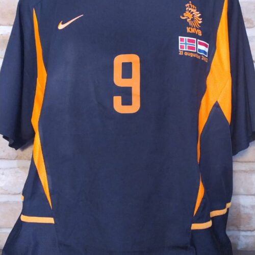 Camisa Holanda Nike 2002 Van Nistelrooy