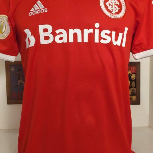 Camisa Internacional Adidas 2020 Rodrigo Lindoso Brasileirão
